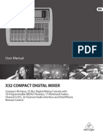 Behringer X32 Compact Manual