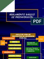 Reglamento Basico de Preinversión.ppsx
