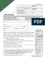 2017 SSS TRIO Application