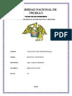 Universidad Nacional de Trujillo Caratuloa
