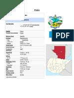 Departamentos de Guatemala Occidental