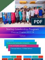 Startup Leadership Program - Jan 6th 2018