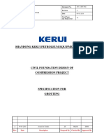 293-1-Spc-002 Specification for Grouting, Rev. A