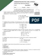 Examen Final de Fisica B Primer Termino 2006-1