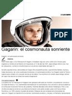 Gagarin_El Cosmonauta Sonriente