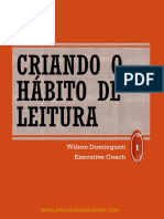 Criando o Hábito de Leitura - Wilson Domingueti