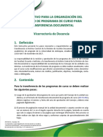 VD-In-01 Instructivo Para El Formato Del Programa de Curso Transferencia Documental