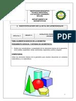 Guía Geometría 6 1p