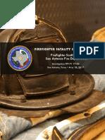 Fatality Report of Firefighter Scott Deem's Death