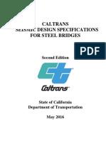Caltrans Seismic Design Spec Steel Bridges 2nd Ed 2016