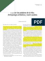 Purificar las palabras de la tribu.pdf
