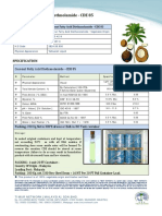 Coconut Fatty Acid Diethanolamide -CDE 85