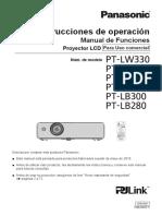 Proyector Pt Lb300