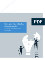 Defining the Value Big Data Customer Analytics
