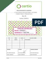 PG 1401 Gestión de Desviaciones AACC y AAPP REV00 CNC Ext