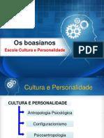 TEO ANT CLAS Boasianos Cultura e Personalidade