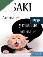Animales y Mas Que Animales - Saki