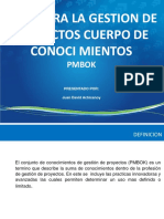 INTRODUCCION PMBOK