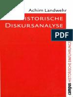 Achim Landwehr – Historische Diskursanalyse