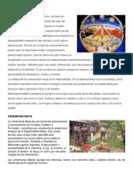 Espiritualidad Maya, Ceremonia Maya, Valores Mayas, Prácticas Ancestrales Mayas