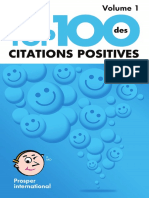 Top 100 Citations Positives