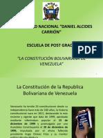 Diapositivas La Constitución Bolivariana de Venezuela