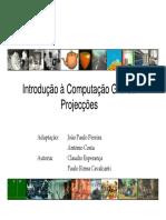 Projecções OpenGL