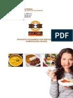 Propuesta Económica Por Servicios de Alimentación (IOKARS)