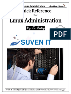 Hands On Guide for Linux Admin(QA)(By Kv Reddy) pdf