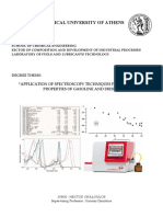 """""""Application of Spectroscopy Techniques for Predicting Properties of Gasoline and Diesel"""
