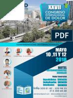 Afiche XXVII Congreso ACED New