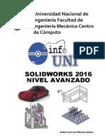 Manual SolidWorks Avanzado 2016
