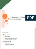 Tema 1 3 Transacciones Concurrencia