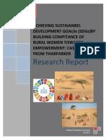 Research Report - Spo- Achieving Sustaianbel Development Goalss (Sdgs) 2017