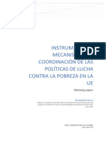 Instrumentos y Mecanismos de Coordinación de Las Políticas