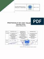Protocolo TELEFONOS SATELITALES
