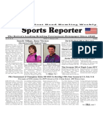 January 31 - February 6, 2018  Sports Reporter