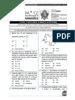 Class05 Maths IOM Sample