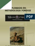Antropología Forense. PowerPoint