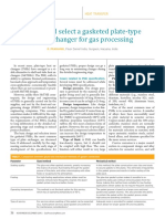 Design and select a gasketed plate-type heat exchanger for gas processing (HP).pdf