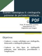 cintilografia - perfusão-ventilação