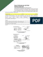 Pemeriksaan Dan Perbaikan Sistem Penerangan Sepeda Motor