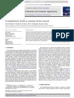 A Comprehensive Survey on Vehicular Ad Hoc Network