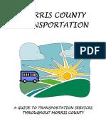 Morris County Transportation Guide