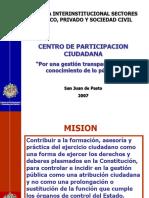 Presentacion Centro de Participacion