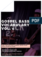 20 Gospel Bass Licks