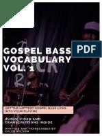 20 Gospel Bass Licks