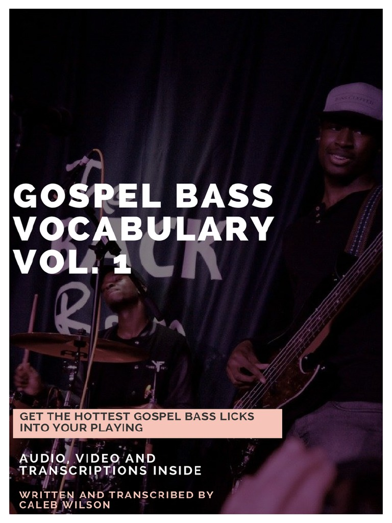 20 Gospel Bass Licks | Chord (Music) | Scale (Music)