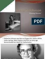 Katherin Johnson