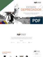 Informe FLIP 2017 Estado Depredador